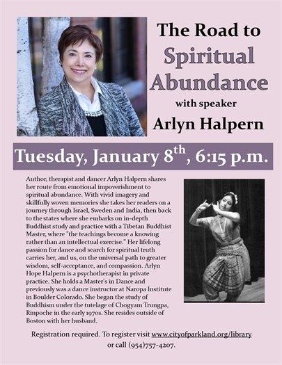 Road to  Spiritual Abundance