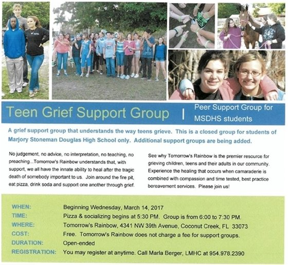 Teen Grief Support Group