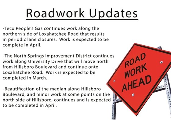 Roadwork Updates