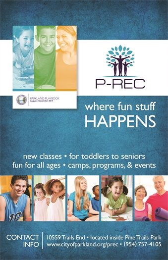 Register Now for P-REC Classes