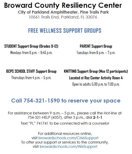 Free Wellness Support Groups