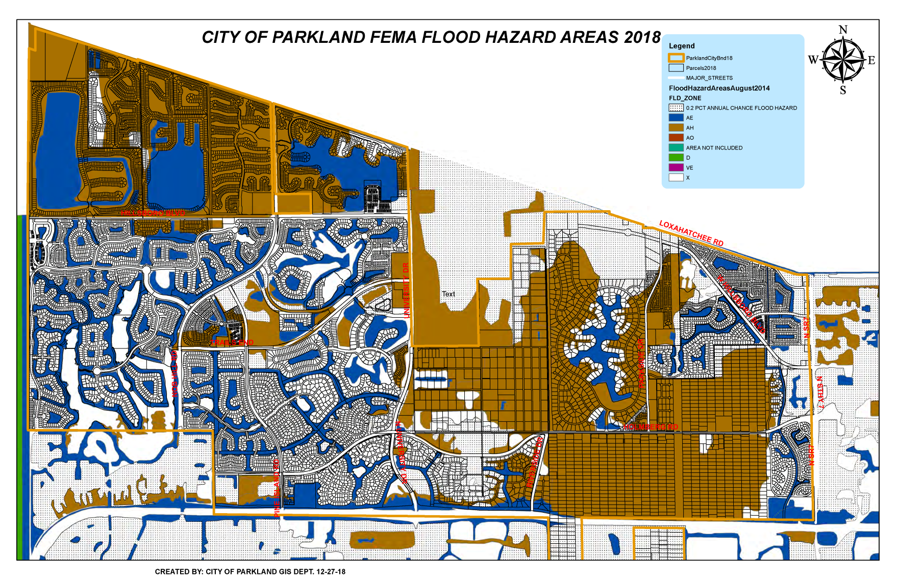FEMA Flood Hazard Areas