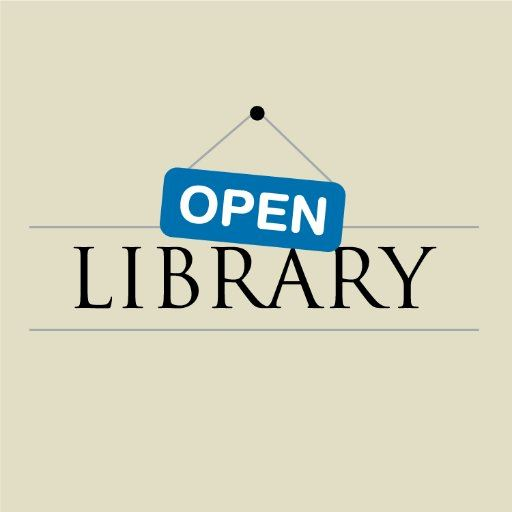 open library internet database logo