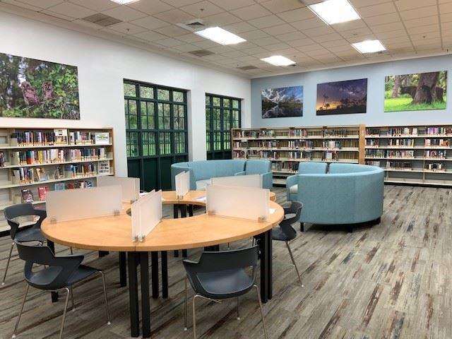 teen space in library
